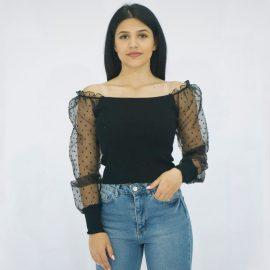 Μπλούζα με μακρύ μανίκι