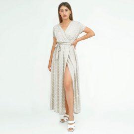 Φόρεμα Μάξι Πουά