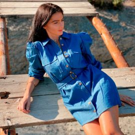 Τζιν Μίνι Φόρεμα
