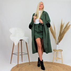 Παλτό 'Oversized' Καστορ