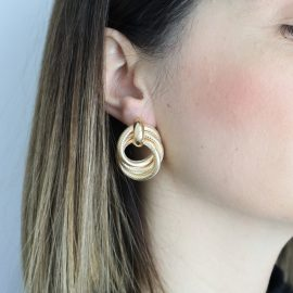 Σκουλαρίκια Χρυσά 'Avelyn'